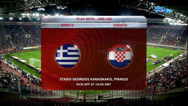Grecja - Chorwacja 0:0. Skrót meczu