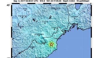 03-09-2017 09:23 Próba z użyciem bomby wodorowej w Korei Płn. Dwa silne wstrząsy sejsmiczne