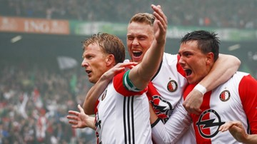 2017-05-14 Feyenoord Rotterdam mistrzem Holandii! Hattrick Kuyta (WIDEO)