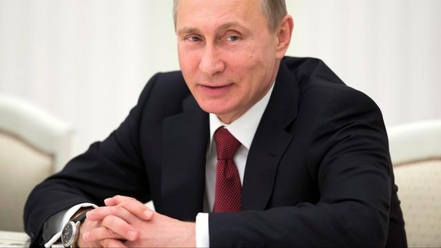 Putin gołębiem pokoju