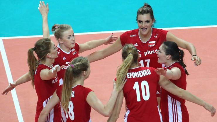 Drugie zwycięstwo polskich siatkarek w Belgii