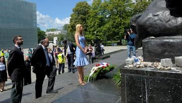 06-07-2017 19:32 Kobiety Trumpa w Polsce. Melania zapowiedziała wystąpienie męża, Ivanka odwiedziła Muzeum Historii Żydów Polski