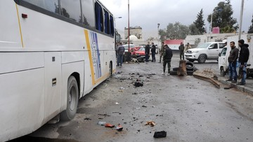 11-03-2017 14:28 Atak na autobusy z pielgrzymami. Co najmniej 40 ofiar w Syrii