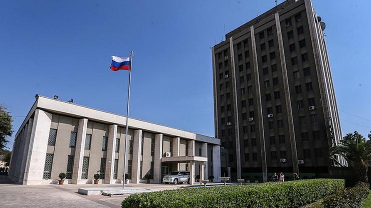 Ostrzelano rosyjską ambasadę w Damaszku