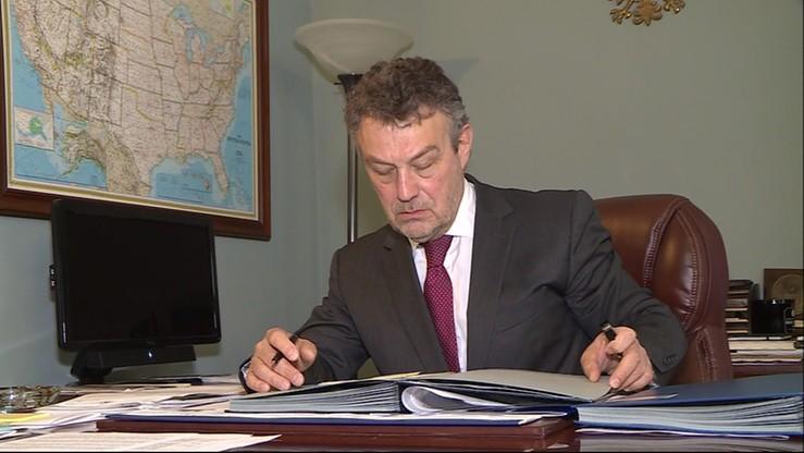 Ambasador RP w USA odwołany ze stanowiska