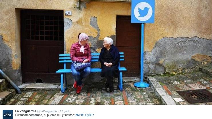 Internet na żywo, czyli wyjątkowy wystrój włoskiego miasteczka