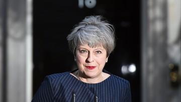 18-04-2017 17:43 Premier Theresa May chce przedterminowych wyborów 8 czerwca