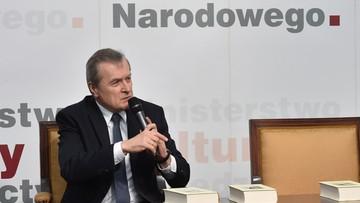 17-05-2016 17:21 Gliński: prowadzimy intensywne prace legislacyjne i nową politykę muzealną