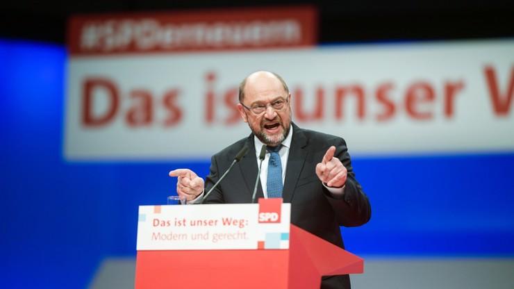 """""""Popatrzcie na to, co dzieje się w Polsce"""". Martin Schulz przestrzega przed osłabianiem Europy"""
