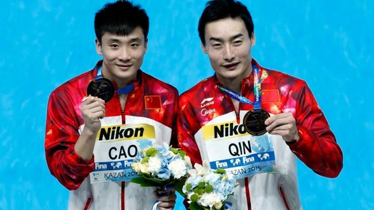 Triumf Chińczyków w skokach z trampoliny