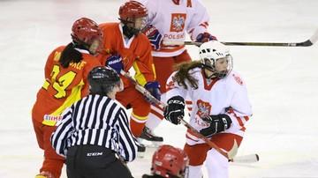 2017-01-15 Hokejowe MŚ U18 kobiet: Polki na trzecim miejscu