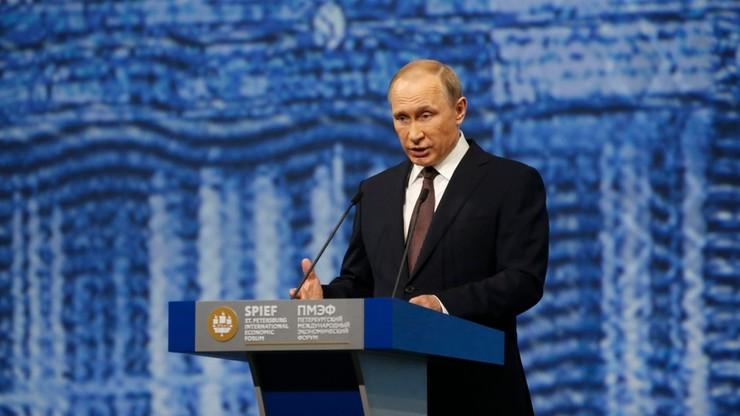 Rio 2016: Putin przeciwny odpowiedzialności zbiorowej za doping