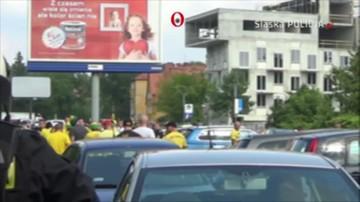 Policja opublikowała film z zamieszek przed stadionem GKS Katowice