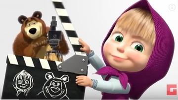 """21-12-2015 16:59 Ponad 1 miliard odsłon jednego odcinka bajki """"Masza i niedźwiedź"""" na YouTube"""