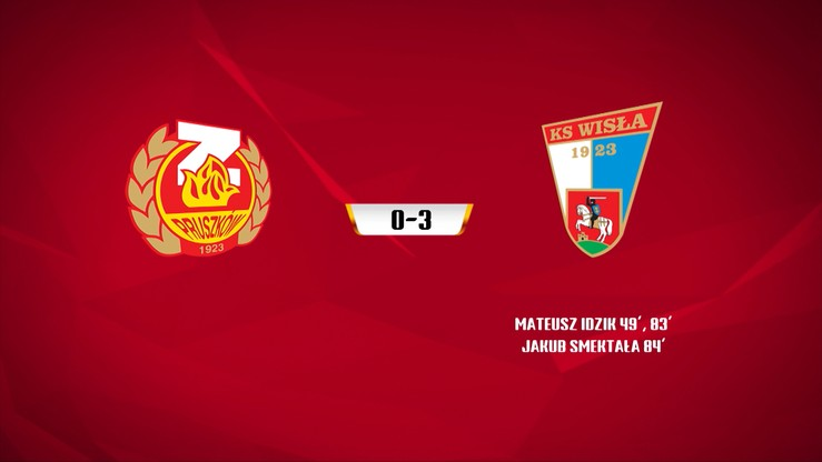 Znicz Pruszków - Wisła Puławy 0:3. Skrót meczu
