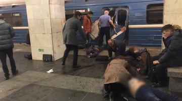 03-04-2017 23:34 Wybuch w Sankt Petersburgu. Media informują o zamachowcu samobójcy