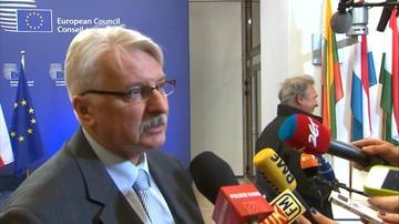 Waszczykowski: Szydło nowym europejskim liderem. Technokraci nieprzygotowani do debaty