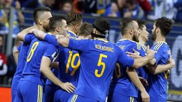 2017-03-25 El. MŚ 2018: Łatwe i przyjemne zwycięstwo Bośni nad Gibraltarem