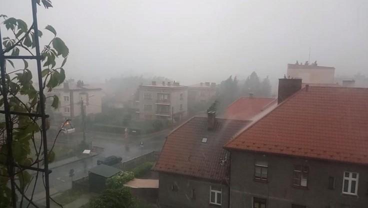 2017-06-29 Gwałtowna burza w Tarnowie