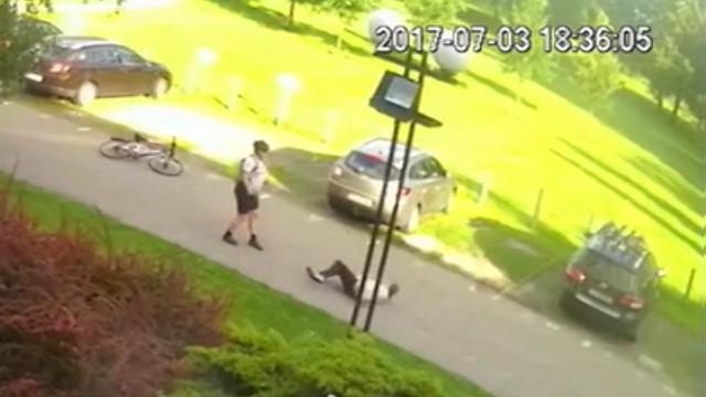 Rowerzysta-bandyta aresztowany na 3 miesiące. Połamał ręce starszemu mężczyźnie