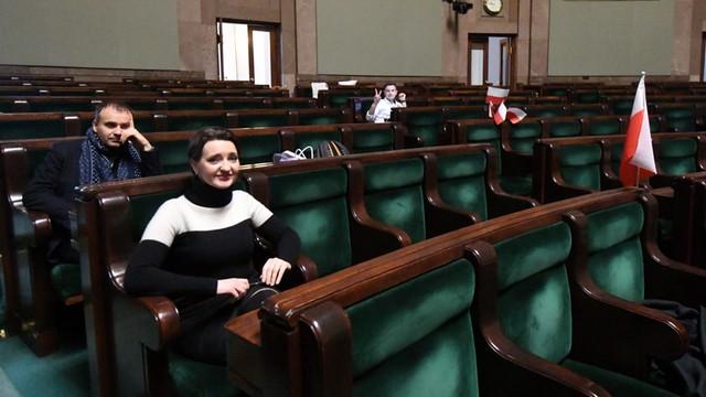 Sellin: Posłowie nie mają prawa przesiadywać w sali plenarnej Sejmu po zamknięciu posiedzenia