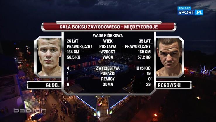 2016-08-20 Piotr Gudel - Krzysztof Rogowski. Skrót walki