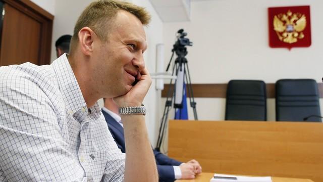 Opozycjonista Aleksiej Nawalny zatrzymany w Moskwie