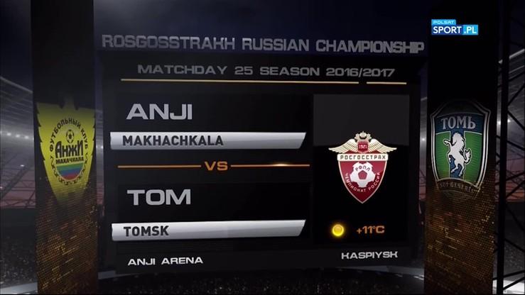 Anży Machaczkała - Tom Tomsk 3:3. Skrót meczu