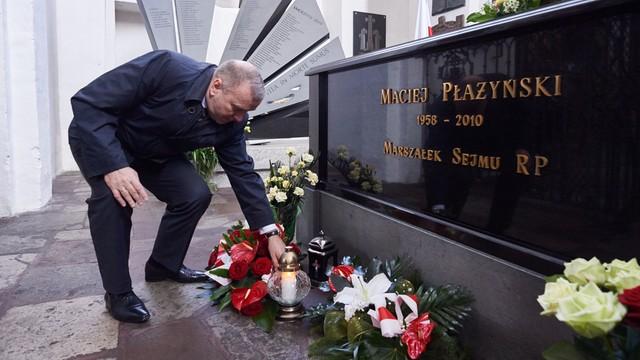 Schetyna: Smoleńsk był dla PiS narzędziem by zdobyć władzę