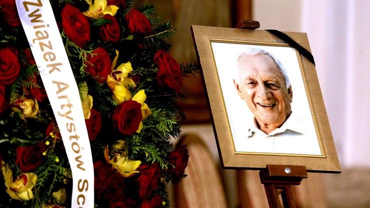 Pogrzeb Witolda Pyrkosza. Prezydent: zapamiętamy go jako aktora pełnego inwencji