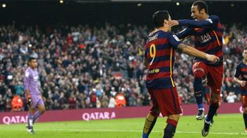 2015-11-08 La Liga: Neymar w butach Messiego, pewna wygrana Barcy