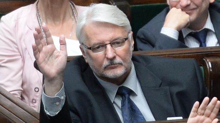 """""""Kwestia sądów to tylko pretekst"""", """"kolejna próba obalenia władz"""". Szef MSZ o protestach przeciwników reformy sądownictwa"""