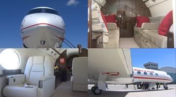 Samolot dla VIP-ów w Polsce. Zobacz, jak wygląda od środka