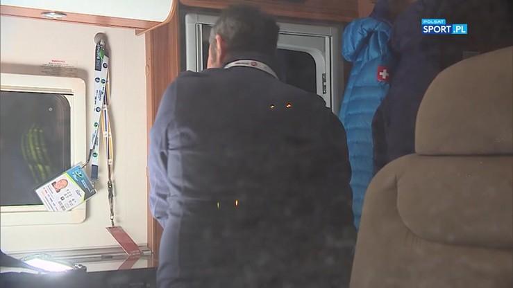 Szwajcarski dom na kółkach! Oto człowiek, który od lat śledzi biathlonistów
