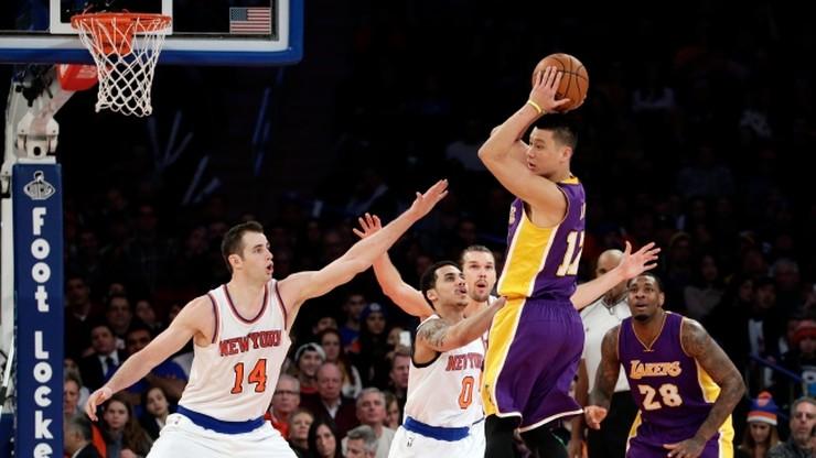 Knicks pokonali Lakers, Heat wygrali z Celtics