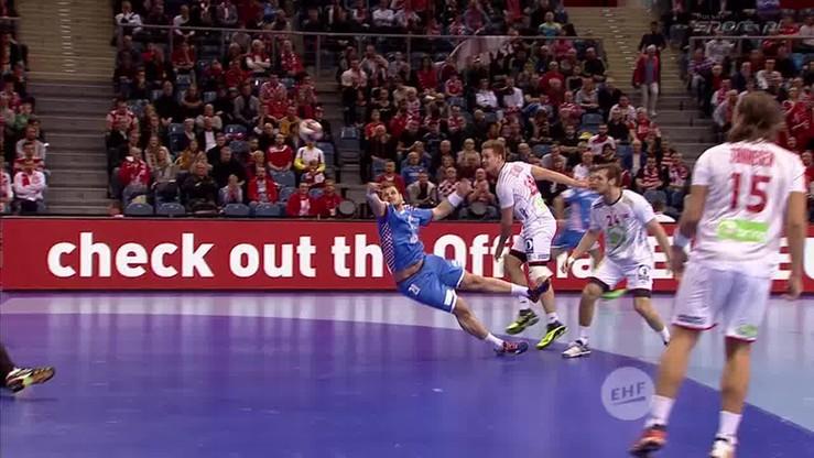 Latający Chorwat dobija piłkę! Kapitalna reakcja Koziny