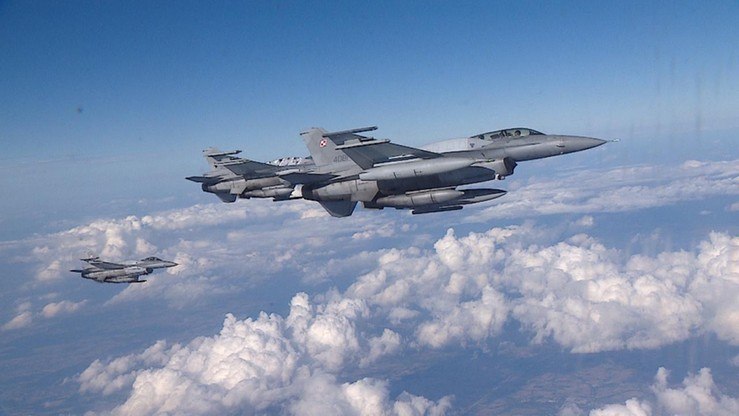 Szef BBN: Polska może wysłać cztery myśliwce F-16 nad Syrię