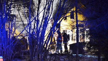 Pożar w Lubaczowie. Znaleziono zwęglone zwłoki