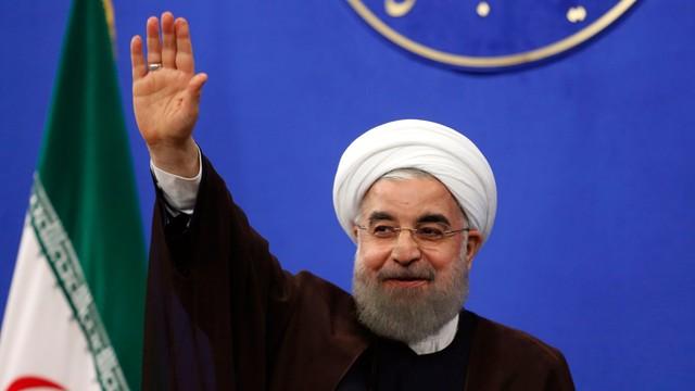Iran: Rowhani wybrany na drugą kadencję z 57 proc. głosów