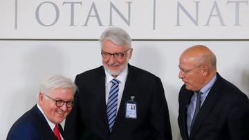 2016-12-06 Waszczykowski pyta w NATO o sens dialogu z Rosją