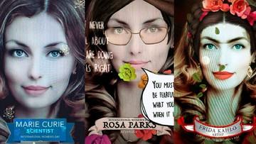 08-03-2017 13:57 Maria Skłodowska od Snapchata. Soczewki ze znanymi kobietami w ich święto