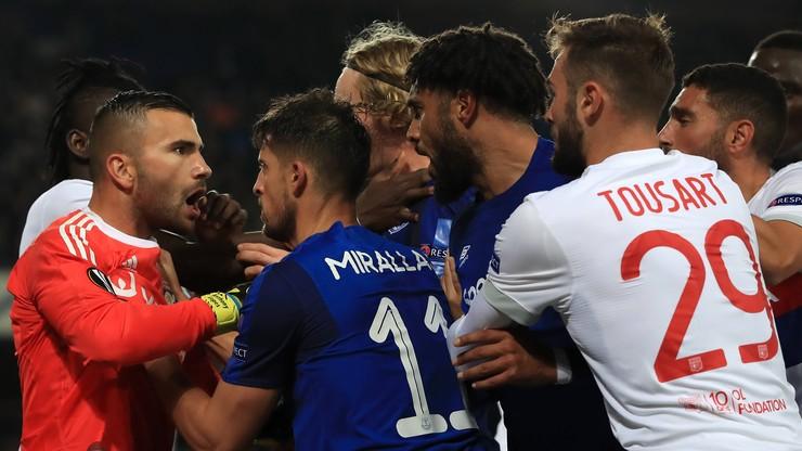 Liga Europy: Zakaz stadionowy i dwa śledztwa po meczu Evertonu
