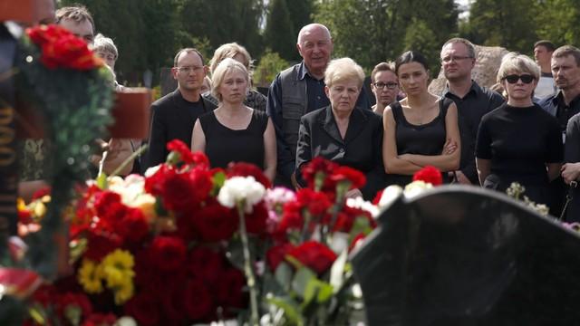Dziennikarz Paweł Szeremet został pochowany w Mińsku