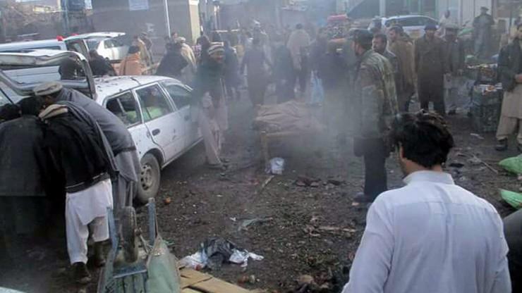 Zamach na targu warzywnym w Pakistanie. Wielu zabitych