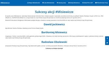 """""""To jest taka córka leśniczego"""" - minister Szyszko wręczył kopertę ministrowi Błaszczakowi"""