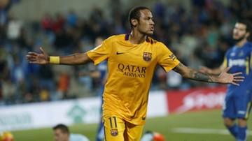 2015-10-31 Gole Neymara i Suareza dały kolejne zwycięstwo Barcelonie