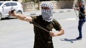 28-04-2017 22:41 Starcia między Palestyńczykami a izraelską policją - dziesiątki rannych