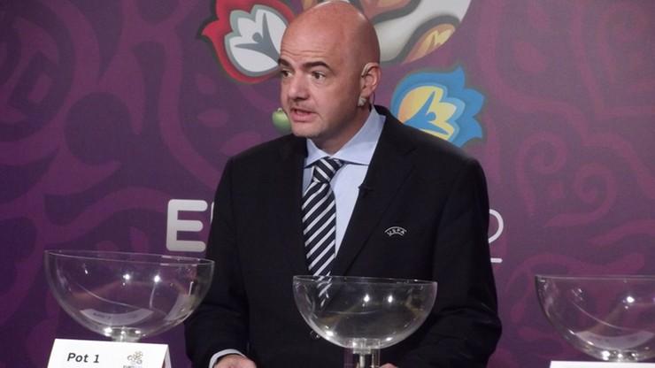 Lojalny Infantino: jeśli Platini będzie kandydował na szefa FIFA wycofam się