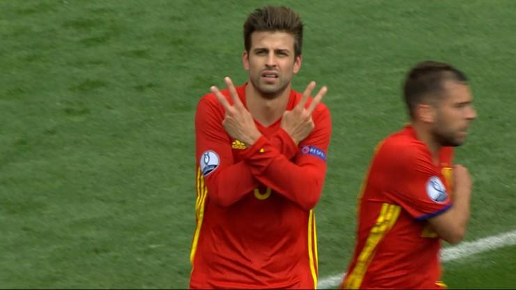 Hiszpania - Czechy: Akcja graczy Barcelony zbawiła Hiszpanię!