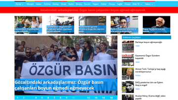 17-08-2016 19:03 Turecka policja zatrzymała 24 pracowników prokurdyjskiej gazety
